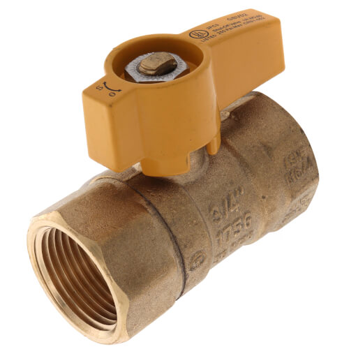 "3/4"" Gas Ball Valve Product Image"