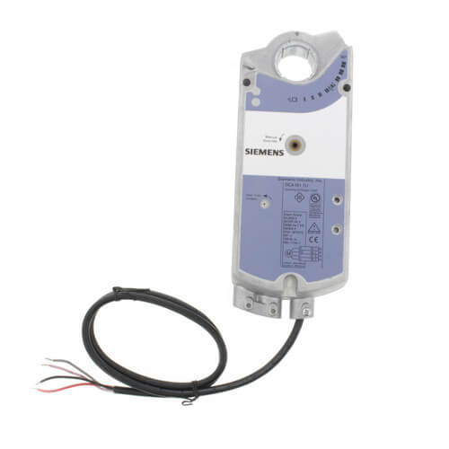 GCA Series Spring Return 142 lb-in Electronic Damper Actuator w/ Standard Cable Product Image
