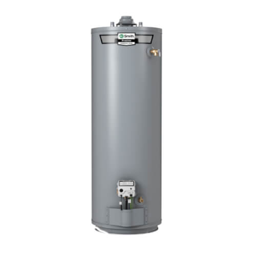40 Gallon - 40,000 BTU ProLine Residential Gas Water Heater w/ Side-Mounted Taps - Tall Model (NG) Product Image