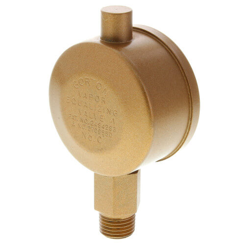 "Gorton No. C, 1/4"" Straight Vapor Equalizing Valve Product Image"