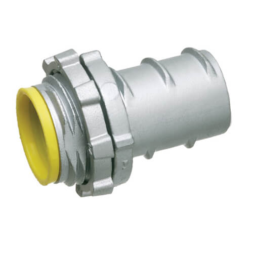 """3/4"""" Screw-In Connector with Insulated Throat  Product Image"""