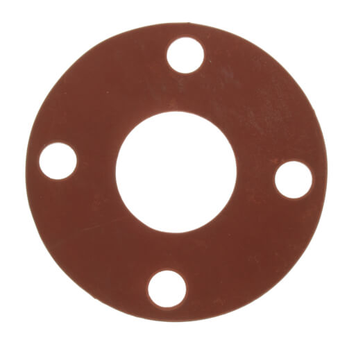 "3"" Full Face Red Rubber Gasket Product Image"