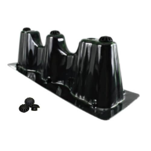 "23"" x 7"" Goliath Furnace Risers w/ Vibration Isolators Product Image"