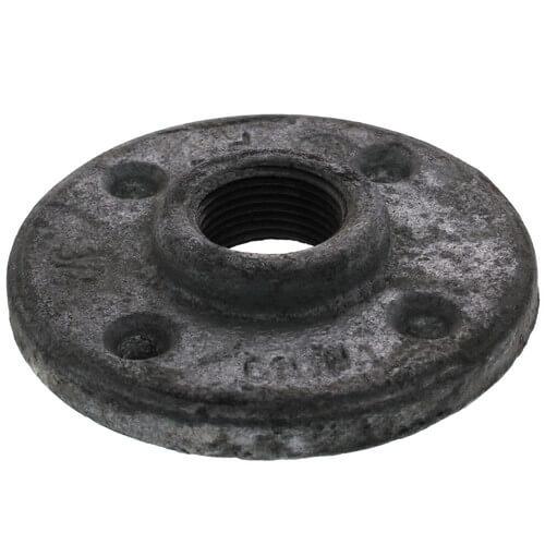 "3/4"" Galvanized Floor Flange w/ Holes Product Image"
