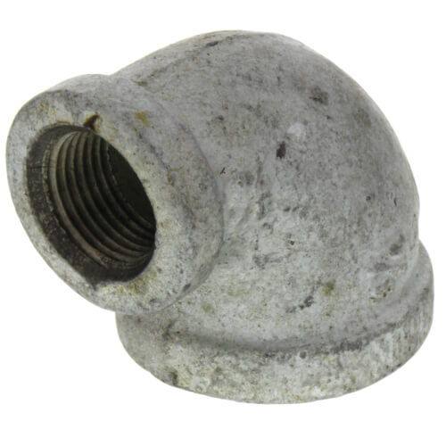 """3/4"""" x 3/8"""" Galvanized Malleable Reducing Elbow Product Image"""