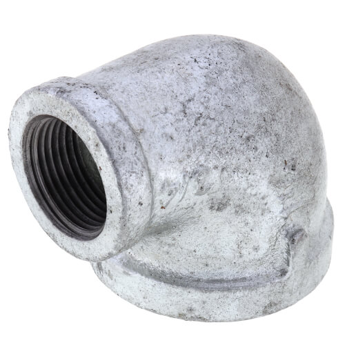 """1-1/4"""" x 3/4"""" Galvanized Malleable Reducing Elbow Product Image"""