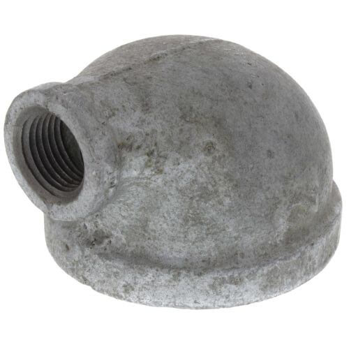 "2"" x 1/2"" Galvanized Malleable Reducing Elbow Product Image"