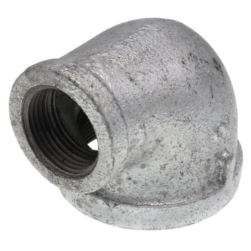 """2"""" x 1"""" Galvanized Malleable Reducing Elbow Product Image"""
