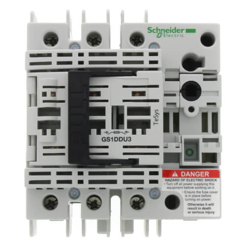 TeSys GS, Switch Disconnecter Fuse, 3P, 600V, Type CC Fuse Product Image
