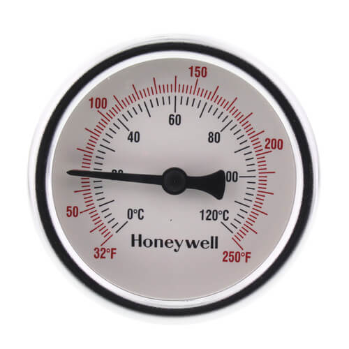 """1/2"""" NPT Connection Thermometer w/ 2-1/2"""" Dial Size Product Image"""