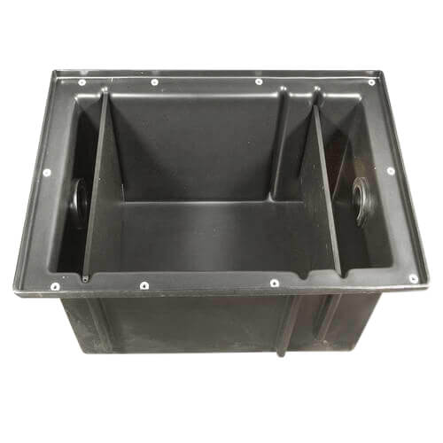 Grease Interceptor Zurn GT2702-20 Polyethylene Grease Trap 20 Gallons Per Minute 40 Pounds Capacity Grease Interceptor