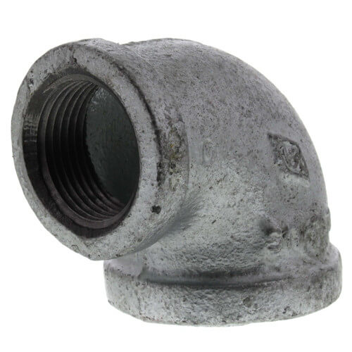 """1-1/4"""" x 1"""" Galvanized Malleable Reducing Elbow Product Image"""