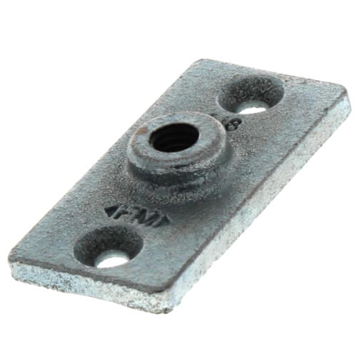 "3/8"" Electro-Galvanized Ceiling Plate Product Image"
