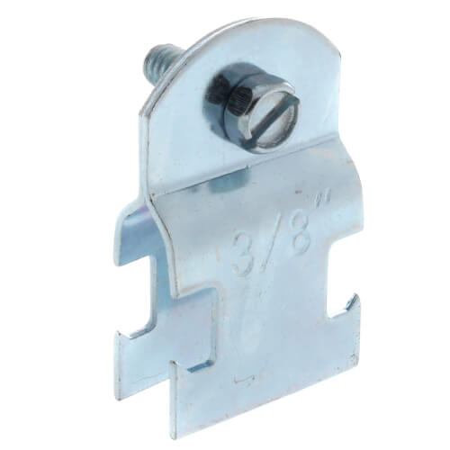"3/8"" Electro-Galvanized Multi-Strut Pipe Clamp Product Image"