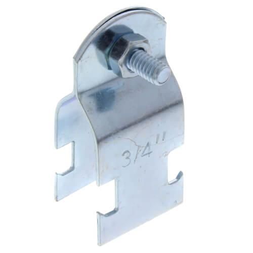 "3/4"" Electro-Galvanized Multi-Strut Pipe Clamp Product Image"