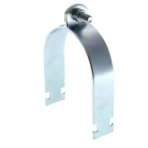 "4"" Electro-Galvanized Multi-Strut Pipe Clamp Product Image"