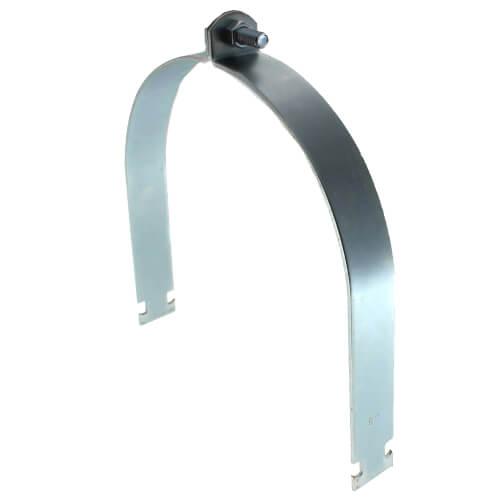 "8"" Electro-Galvanized Multi-Strut Pipe Clamp Product Image"