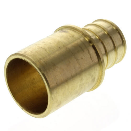 "3/4"" PEX x 3/4"" Copper Fitting Brass Adapter (Lead"