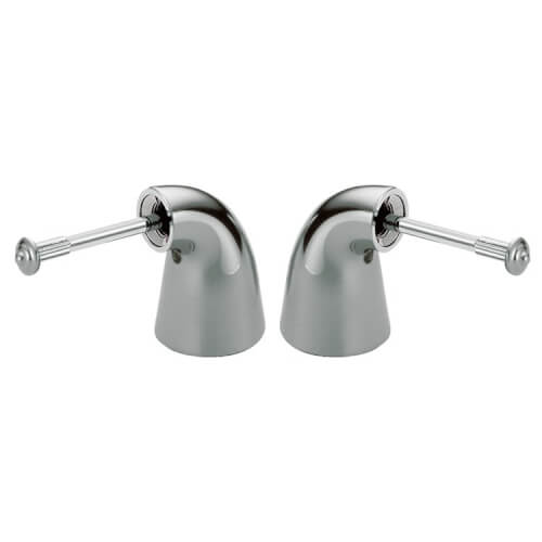 Delta Faucet H24 Innovations Two Metal Lever Handle Kit Chrome