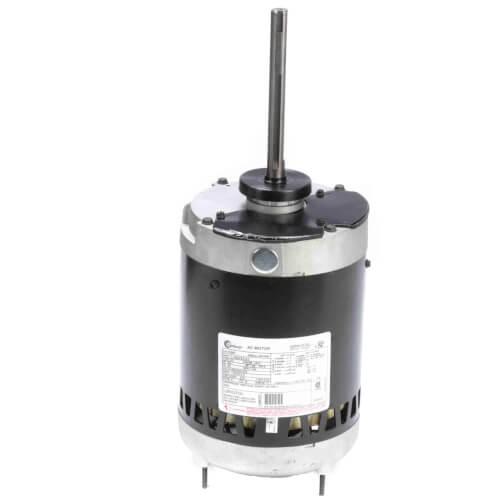 "6-1/2"" Vertical Condenser Fan Motor (200-230/460V, 1140 RPM, 3/4 HP) Product Image"
