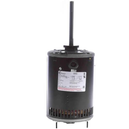 "6-1/2"" Vertical Condenser Fan Motor (200-230/460V, 1140 RPM, 1 HP) Product Image"