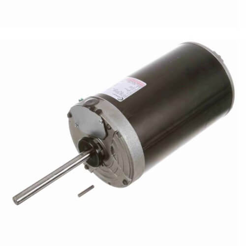 """6-1/2"""" 3-Phase Vertical Condenser Fan Motor (460/200-230V, 1140 RPM, 1-1/2 HP) Product Image"""