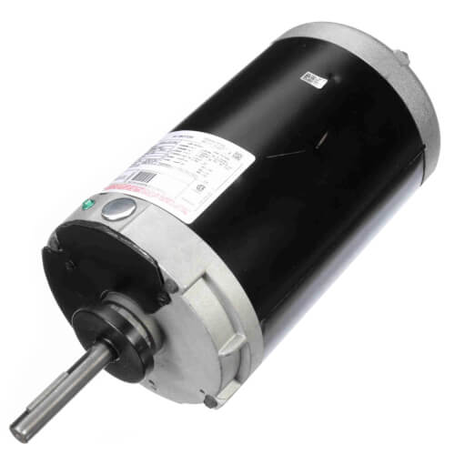 """6-1/2"""" 3-Phase Vertical Condenser Fan Motor (460/208-230V, 1140 RPM, 2 HP) Product Image"""