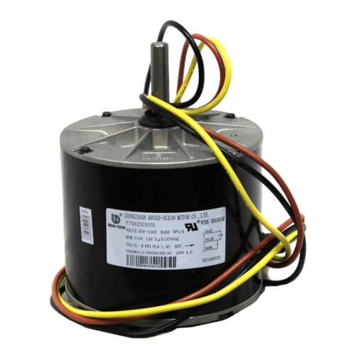 1/4 HP Single Phase Condenser Motor Fan Product Image