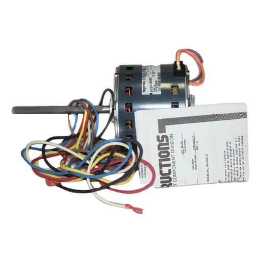 1/4 HP Reversible Rotation 230V 1075 RPM Blower Motor Product Image
