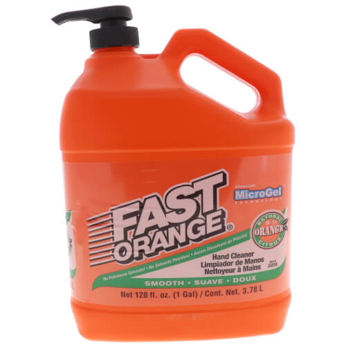 Fast Orange Pumice Hand Cleaner w/ Dispenser, 1 Gal. Product Image