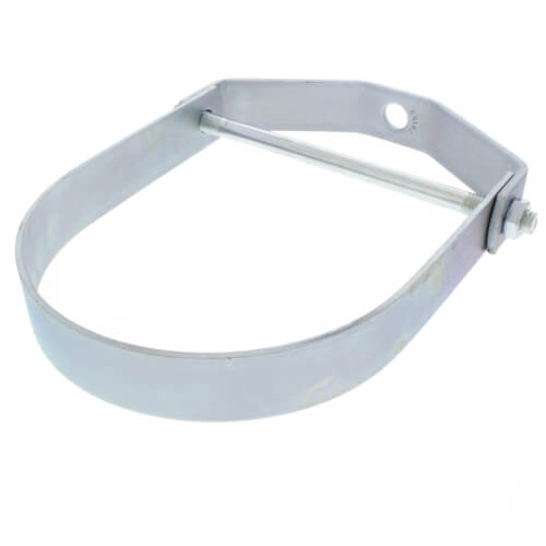 "8"" Electro-Galvanized Clevis Hanger Product Image"