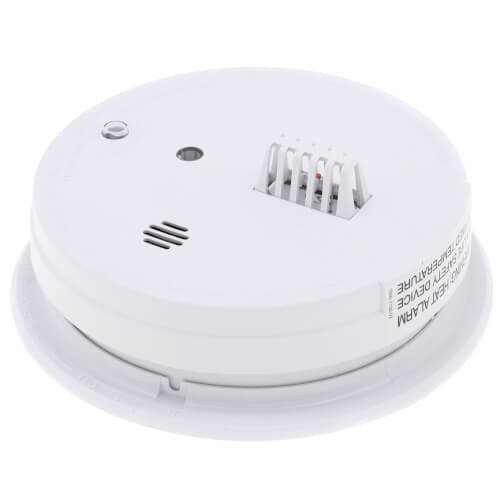 HD135F Heat Alarm (120v) w/ 9v Battery Backup Product Image