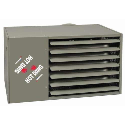 HD75 Hot Dawg Natural Gas Power Vented Heater w/ Alumnized Steel Heat Exchanger (75,000 BTU) Product Image