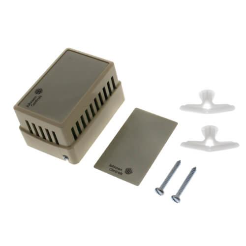 Wall Mount Temperature Sensor : He n bt johnson controls wall