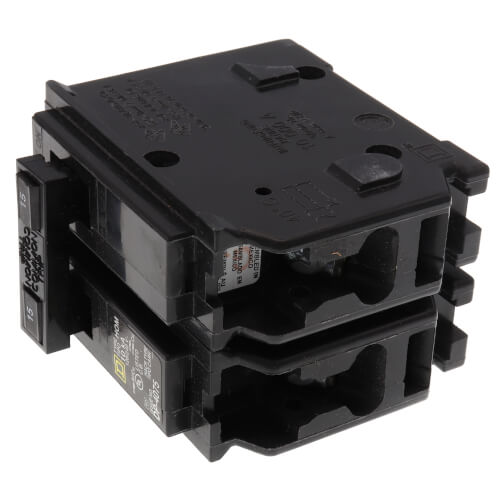 Homeline 2 Pole Miniature Circuit Breaker (120/240V, 15A) Product Image