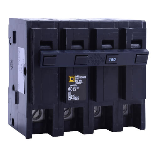 Homeline 2 Pole Miniature Circuit Breaker (120/240V, 150A) Product Image