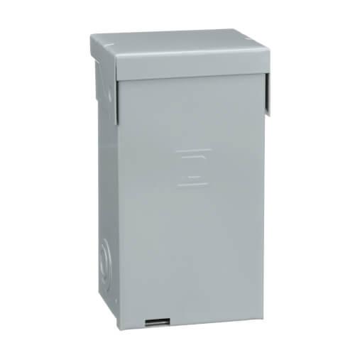 Homeline 4 Circuit Spa Panel Main Lug Load Center, 2 Space, 120/240V (50A) Product Image