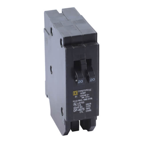 Homeline Single Pole 20A Tandem Miniature Circuit Breaker Product Image