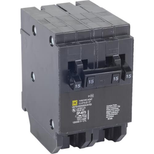 Homeline Single/2 Pole Miniature Quad Tandem Circuit Breaker (120/240V, 20/30A) Product Image