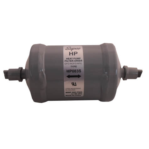 """3/8"""" ODF Bi-Flow Heat Pump Filter Drier (8 Cubic Inches) Product Image"""