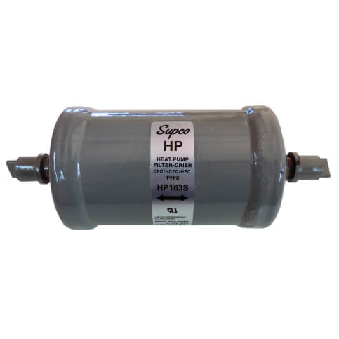 """3/8"""" ODF Bi-Flow Heat Pump Filter Drier (16 Cubic Inches) Product Image"""