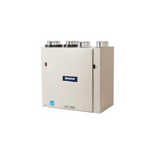 HRV160T, 160 CFM Advanced Series High Efficiency Heat Recovery Ventilator w/ Side Ports Product Image