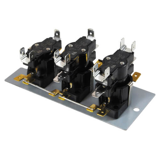 2DPDT-SPST Heat Sequencer (4 Timings, 5 Switches) Product Image