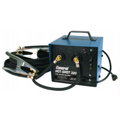 320 Amp Hot-Shot Pipe Thawer w/ (2) 20' Cables & Clamps Product Image