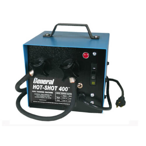 HS-400 400 Amp Hot-Shot Pipe Thawer w/ (2) 20' Cables & Clamps Product Image