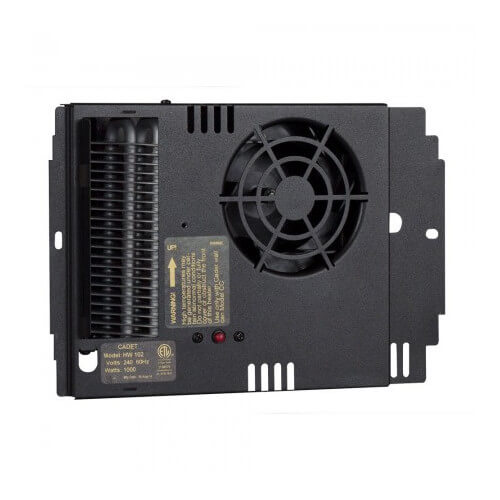 HW102 Electric Wall Heater Assembly w/o Stat, 1000W (240V) Product Image