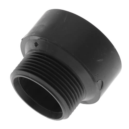 """1-1/2"""" x 1-1/4"""" H x MIPT ABS Reducing Male Adapter (5804R) Product Image"""