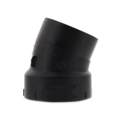 "1-1/2"" Spigot x Hub ABS 22-1/2° Street Elbow (58082) Product Image"
