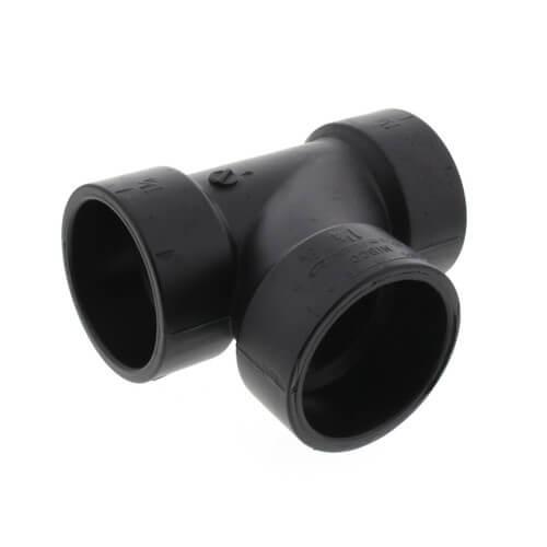 "1-1/2"" x 1-1/2"" x 1-1/4"" Hub ABS DWV Sanitary Tee (5811R) Product Image"