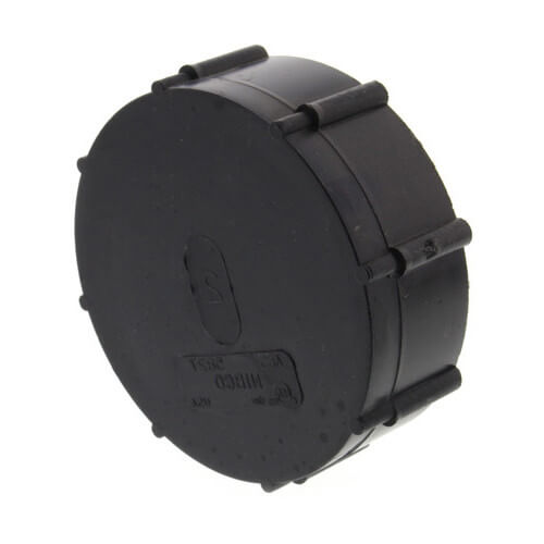 "2"" FIPT ABS Cap (5827) Product Image"